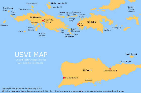 Back Ground Info On Vacation Rentals Scenic Pictures Of St - Map st thomas us virgin islands
